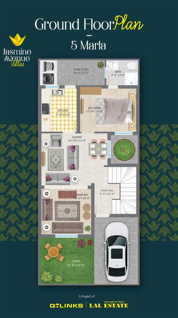 Jasmine Avenue Villas Floor Plan